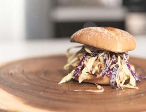 MFTN: BBQ Pulled Chicken Sandwich n Slaw